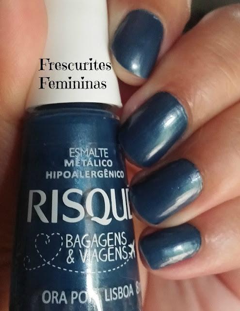 Frescurites Femininas, Nail Polish, Esmalte, Metálico