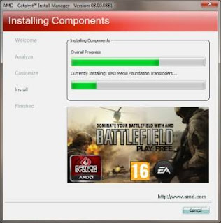 Interface da ferramenta para otimizar jogos da AMD