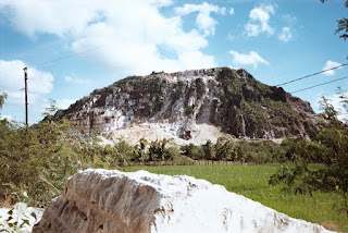 Quarry site in Antipolo City