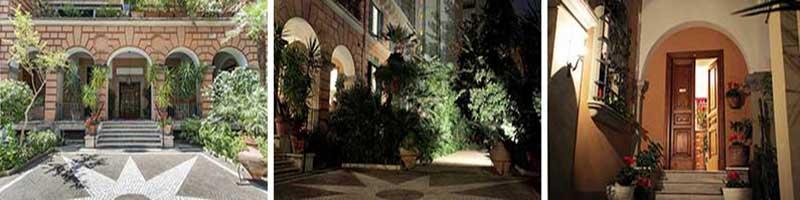 Bed and breakfast Adele Emme è situato in un Palazzo d'epoca del 1927 è circondato da un curatissimo giardino con piante esotiche, fiori e alberi da frutta, Per accedere al b&b c'è una scalinata indipendente dal palazzo