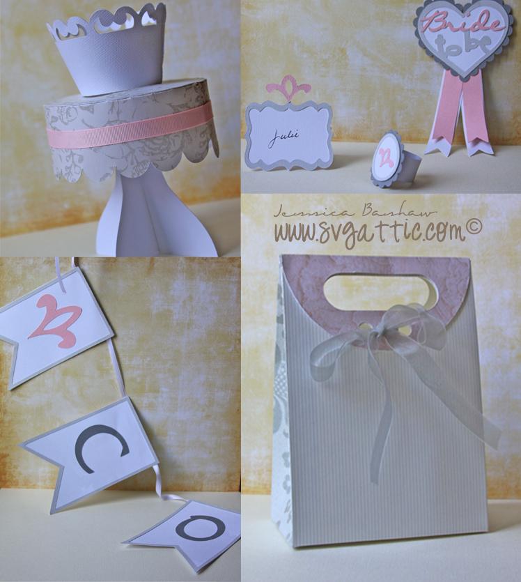 Svg Attic Blog Bridal Shower Wedding Decorations Svg