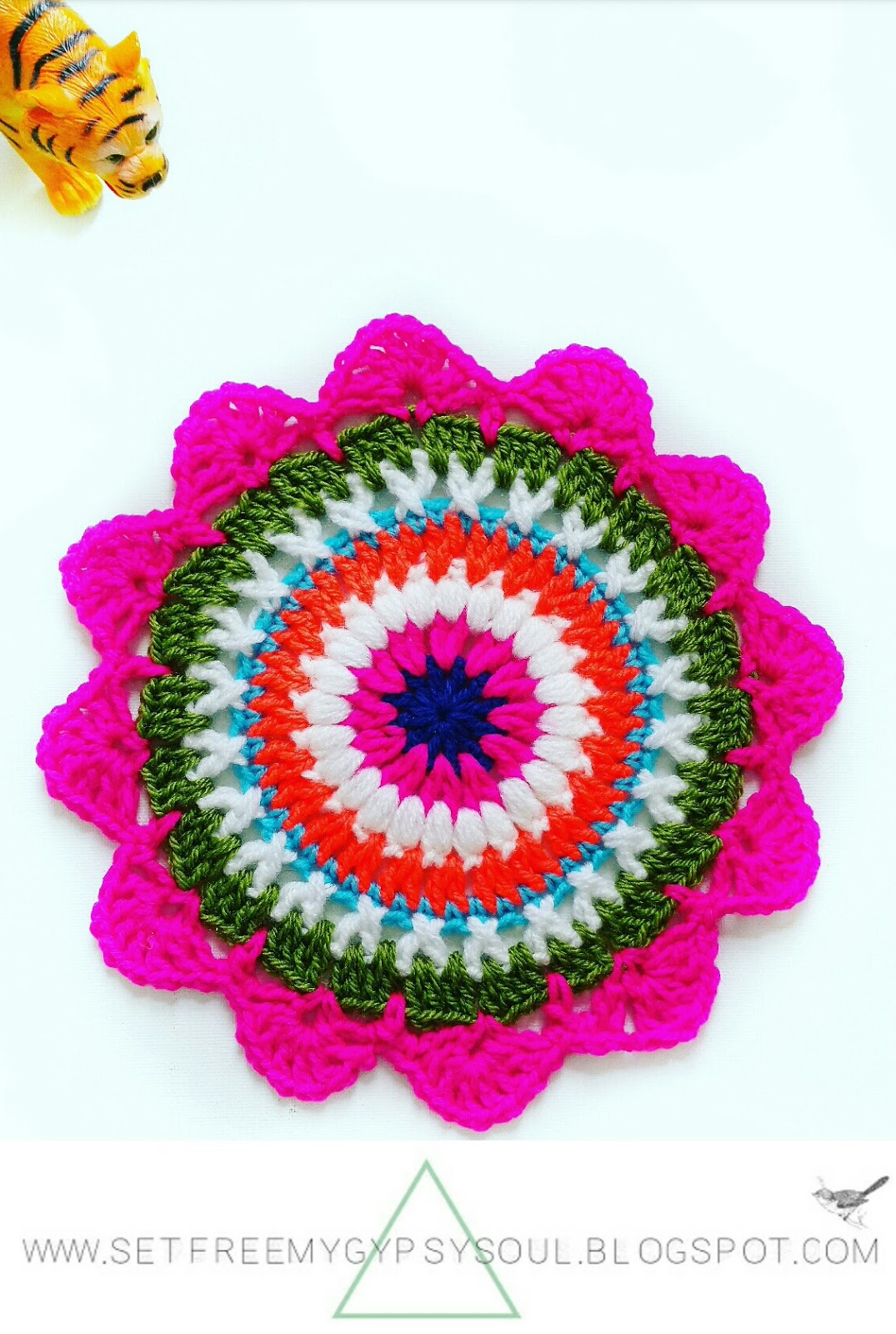 Set Free My Gypsy Soul | a Crochet Craft blog : Quick And Easy Pink ...
