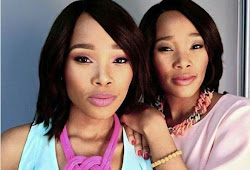 Innocent Sadiki From Skeem Saam And Her Twin: WATCH How Similar And Beautiful They Are.