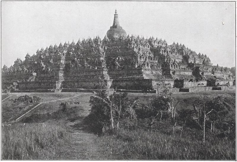 borobudur at 19th century