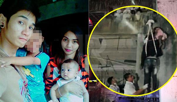 Bapa gantung anak perempuannya sampai mati, sebelum gantung diri sendiri