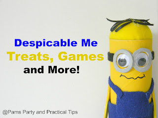 Despicable Me party ideas, treats, and games
