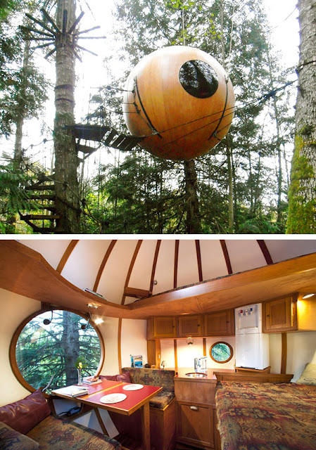 beautiful treehouses aroubd the world