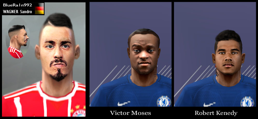 Ultigamerz: PES 6 Robert Kenedy, Victor Moses And Sandro