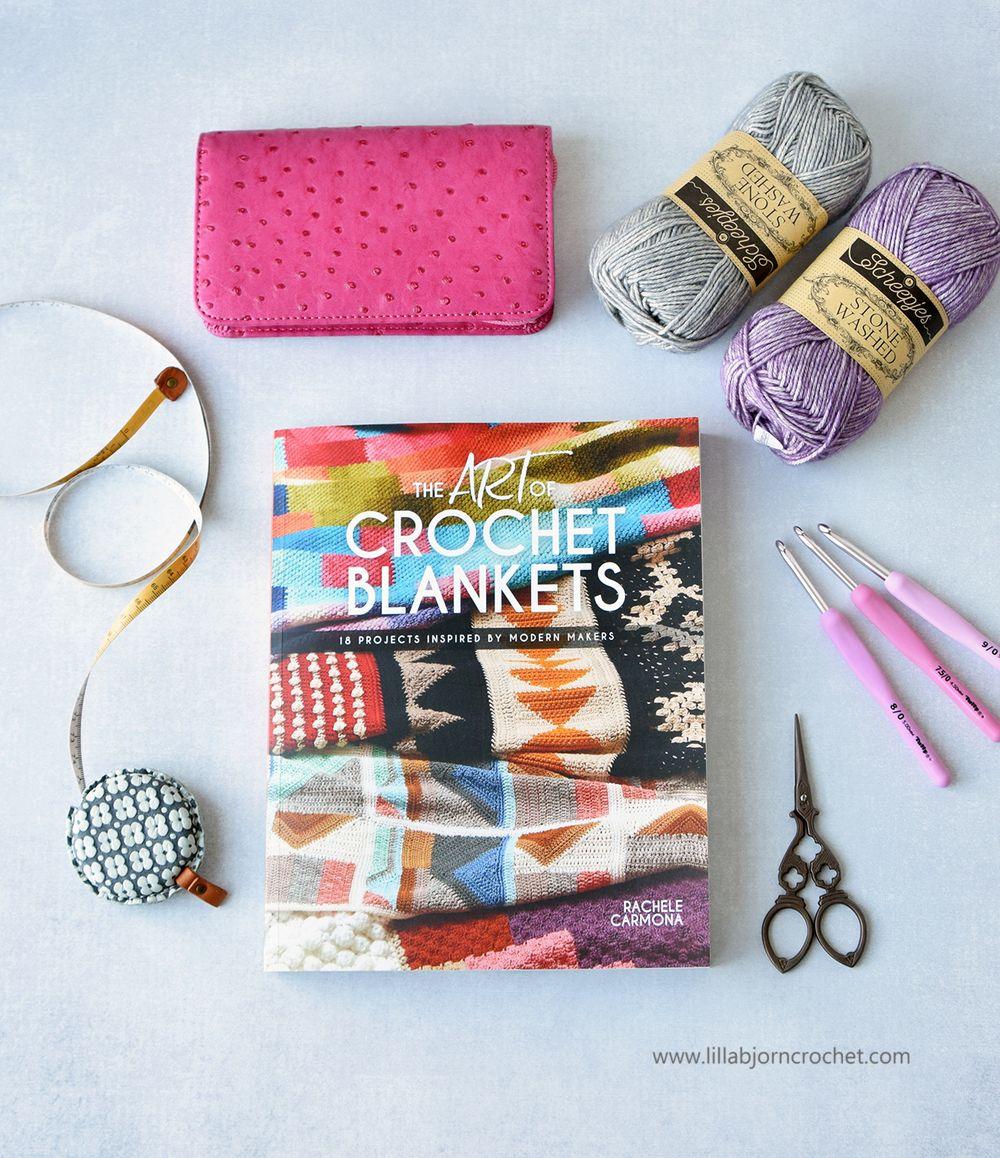 The Art of Crochet Blankets_book by Rachele Carmona_review by www.lillabjorncrochet.com