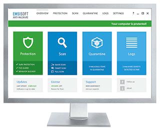 تنزيل برنامج مضاد الفيروسات Emsisoft Anti-Mlware مجانا