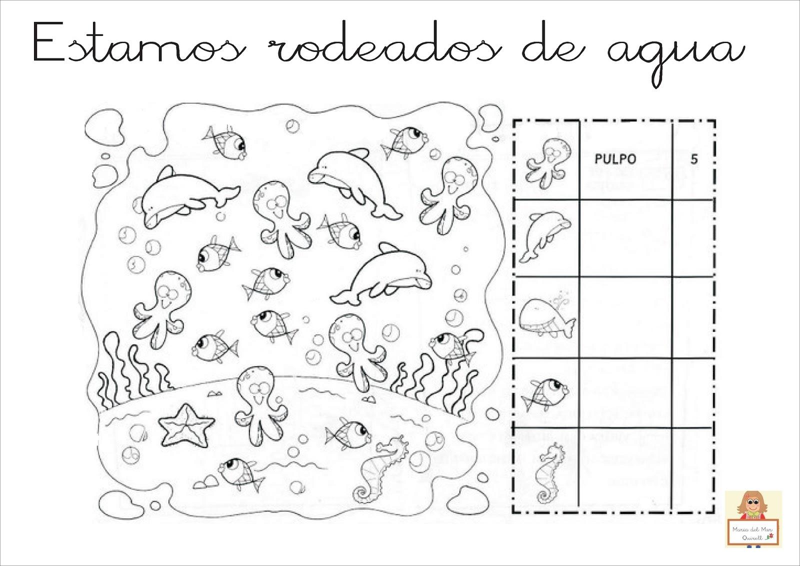 """Fichas Del Abecedario Para Colorear Niños De Infantil Y: Proyecto """"La Vuelta Al Mundo"""". Fichas Para Imprimir"""