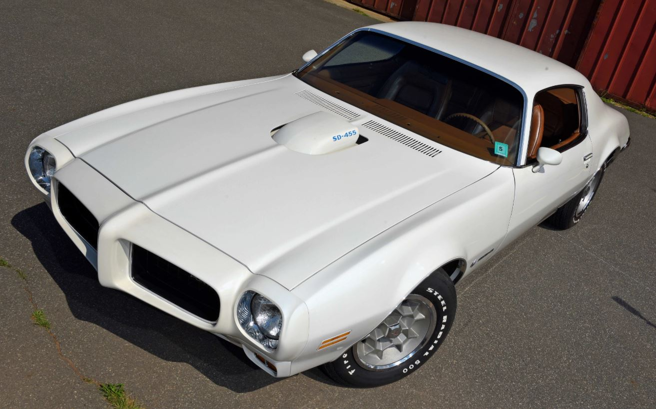 Just A Car Guy The 1973 Firebird Formula Sd 455 Was Listed By Pontiac Trans Am Specs As Getting Built With Twin Scoop Hood They Didnt Though And Got T Shaker