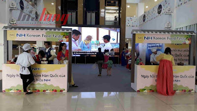 Thỏa sức mua sắm tại Ngày hội Thực phẩm Hàn Quốc Thương hiệu NH