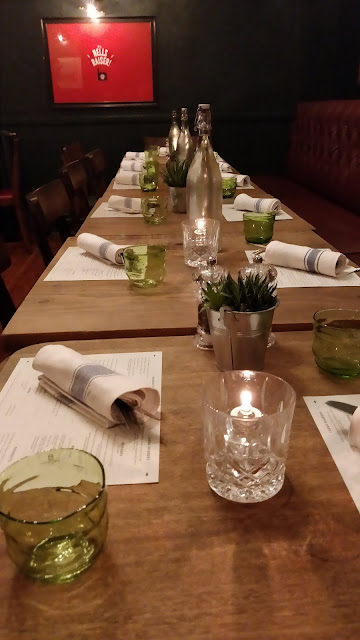 private dining at The Vine NW5