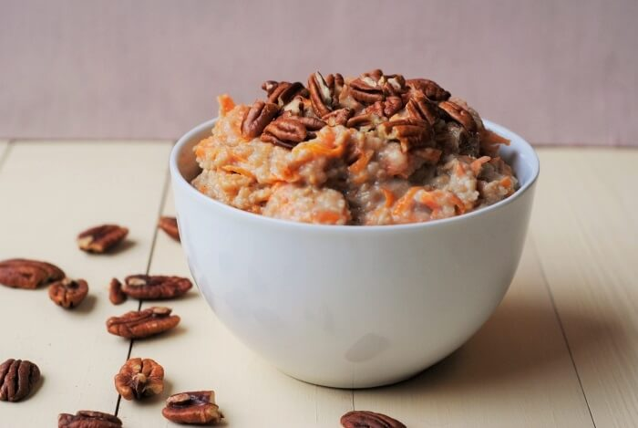 Weight WatchersSlow Cooker Carrot Cake Porridge