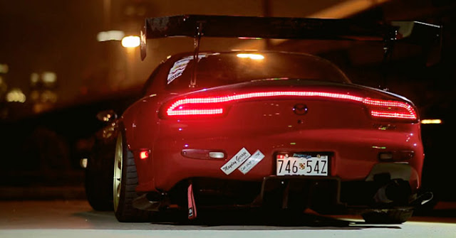 mazda rx7 backlights