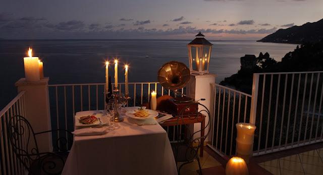 Restaurante em Amalfi