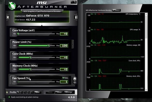 MSI Afterburner - Nasıl İndirilir ve Kullanılır!