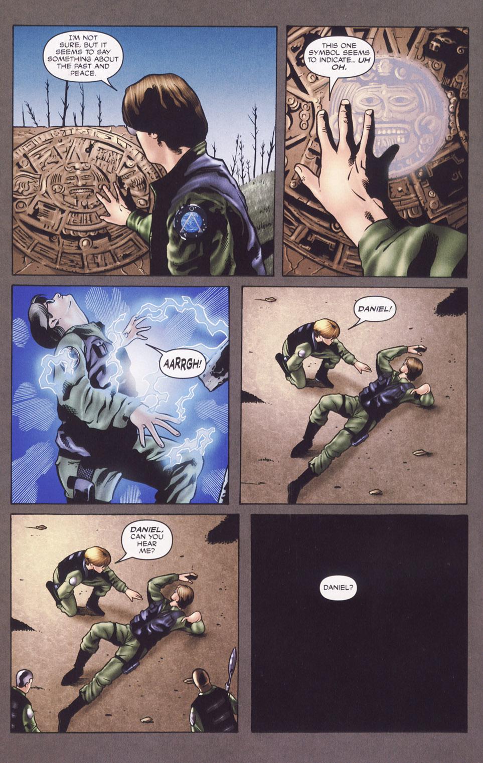 Read online Stargate SG-1: Daniel's Song comic -  Issue # Full - 4