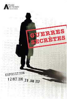 Guerres Secrètes Musée de l'Armée affiche