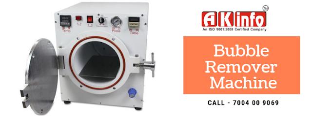 bubble remover machine-price