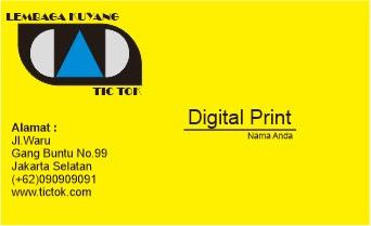 Cara Mendesain kartu Nama di CorelDraw + Setting Printer