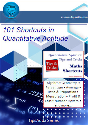 101 Shortcuts in Quantitative Aptitude - Maths Tips & Tricks eBook