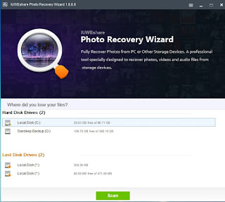 Free Photo Recovery Software IUWEshare Photo Recovery Wizard Virus Solution Provider
