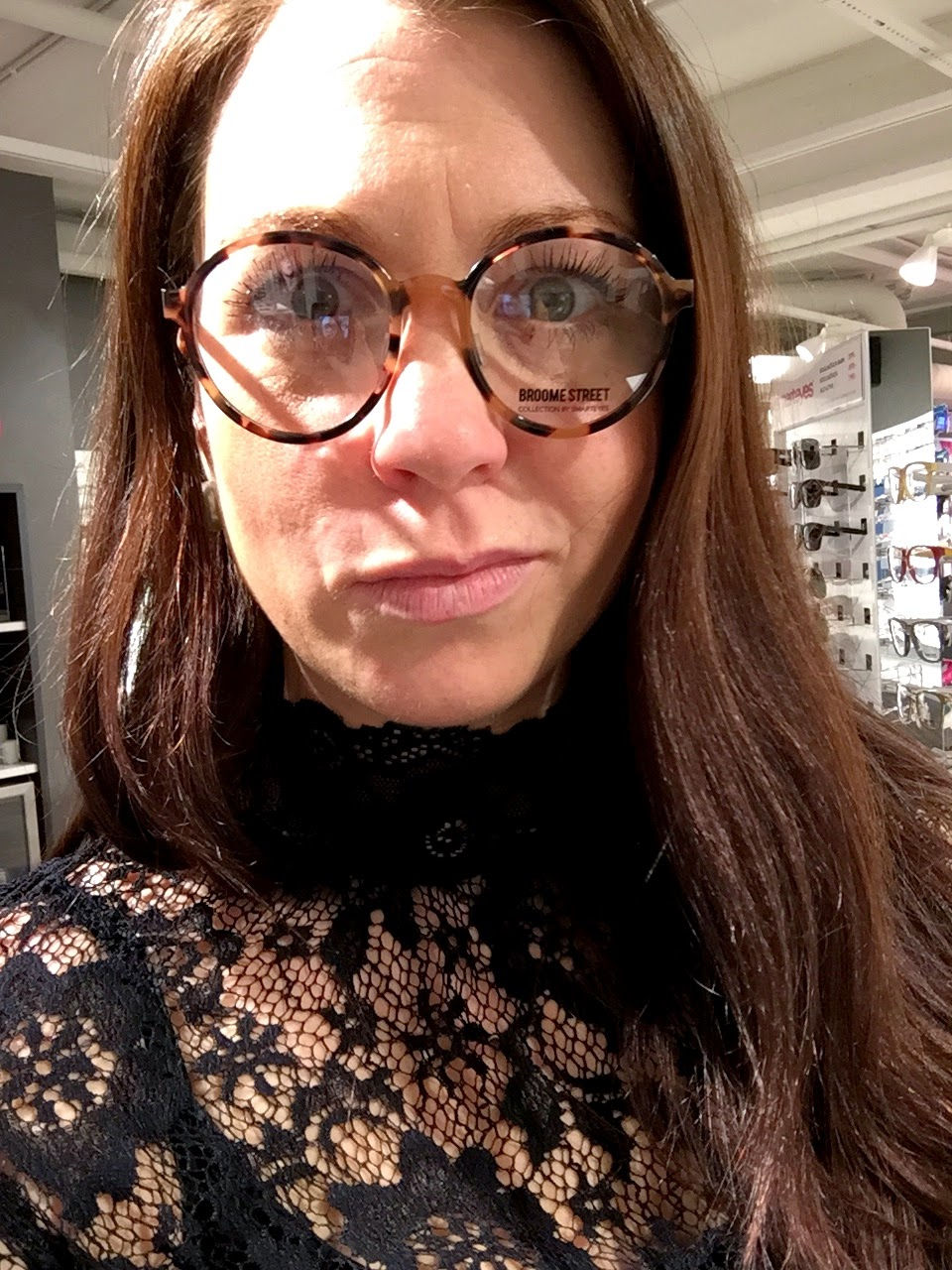 runda glasögon metall