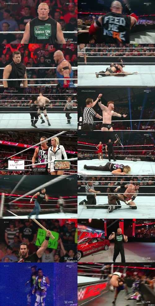 WWE Monday Night RAW 2015 HDTV 480p
