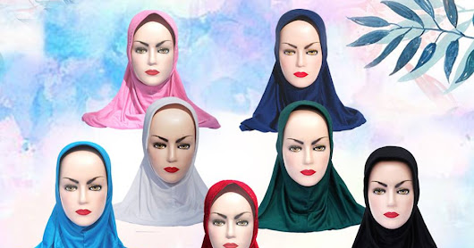 Easy Pull-over Hijabs in Different Colors only $7.99 - Muslim Clothing