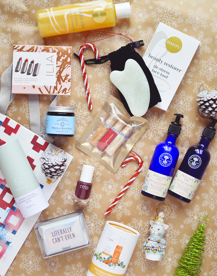 Natural Beauty Christmas Gift Guide.