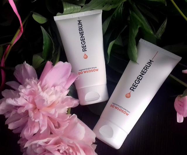 Regenerum - regeneracyjny szampon i regeneracyjne serum do włosów
