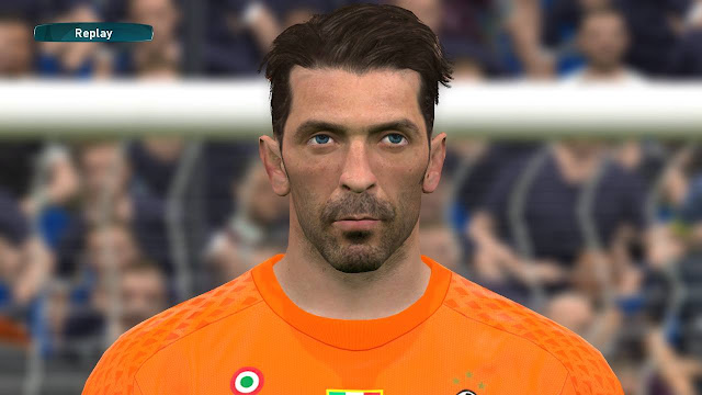 PES 2017 Gigi Buffon (Juventus) Face by Lucas Facemaker