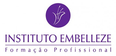 logo do instituto embelleze lu tudo sobre tudo