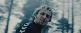 My running hero Quicksilver in the Avengers movie.