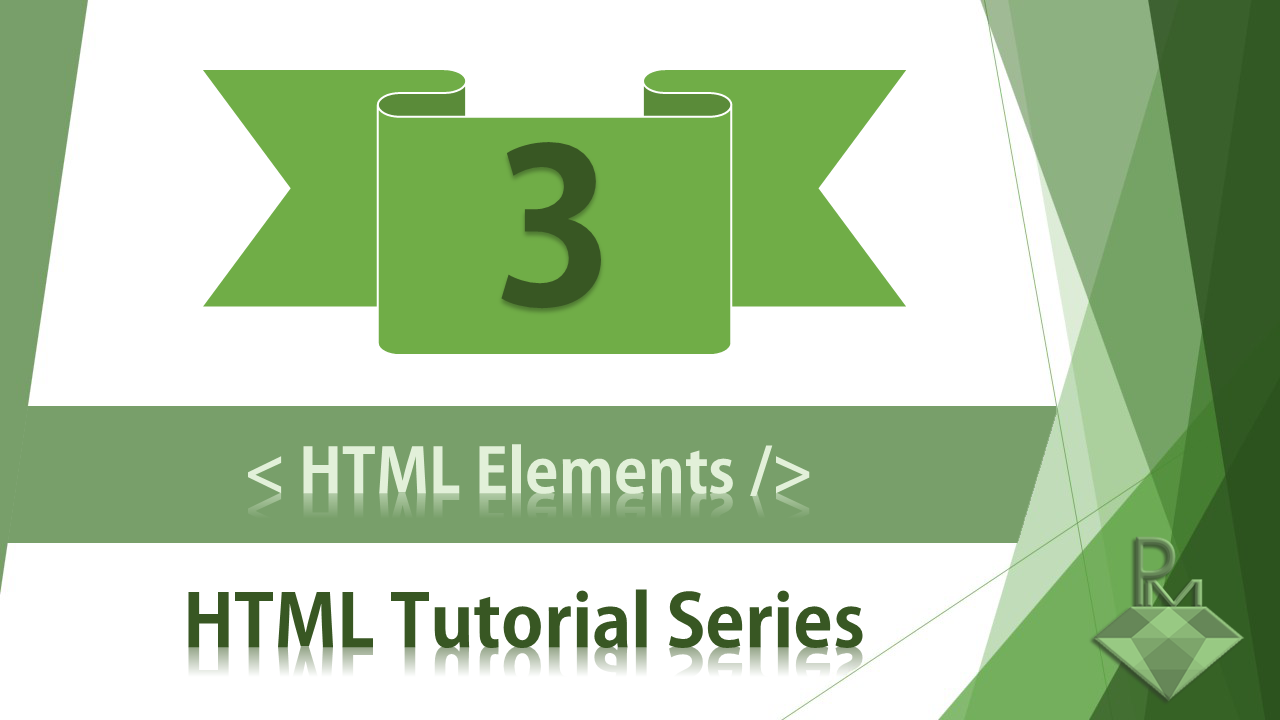 What is HTML Elements?