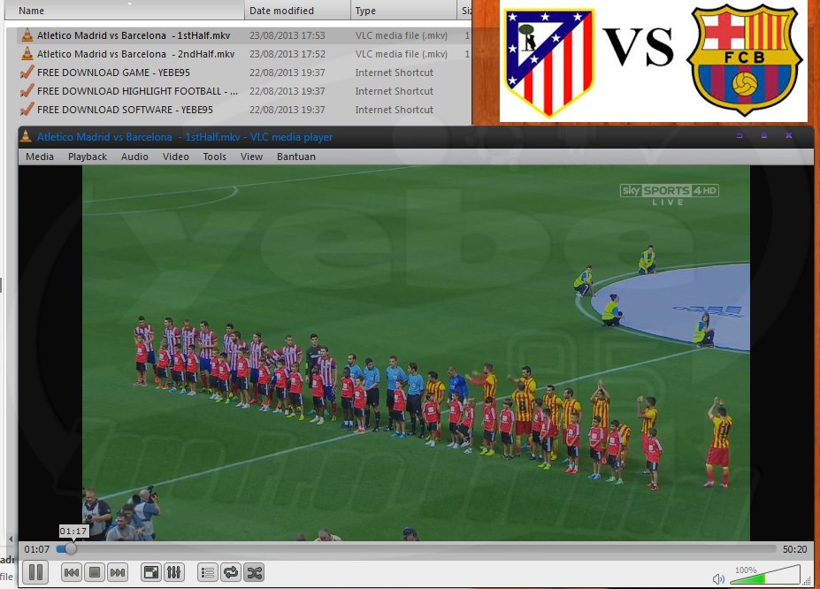Full Match Atletico Madrid Vs Barcelona Supercup Spanyol