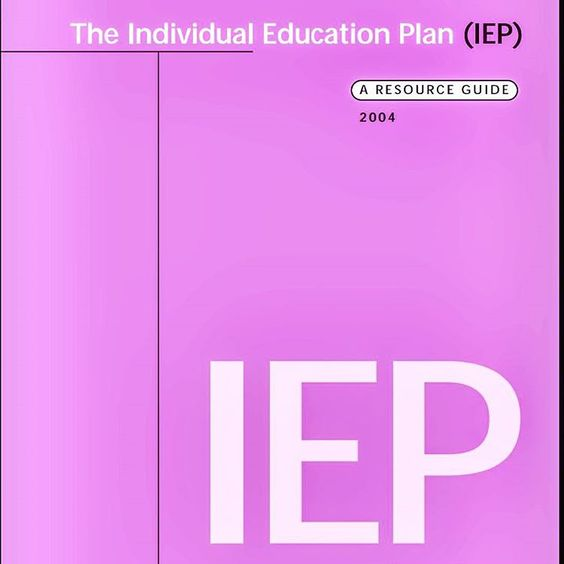 individual education The individual education program (iep) is the basic component of special  education programs for children with learning disorders and other.