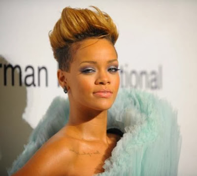 Rihanna's Hair through the Years