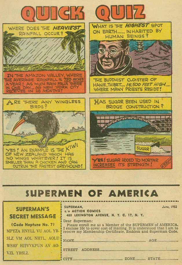 Read online Action Comics (1938) comic -  Issue #169 - 43