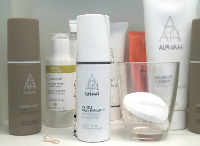 Alpha H Gentle Daily Exfoliant recensione review