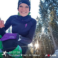 Polar Vantage V Test Training Marathon Training Winter