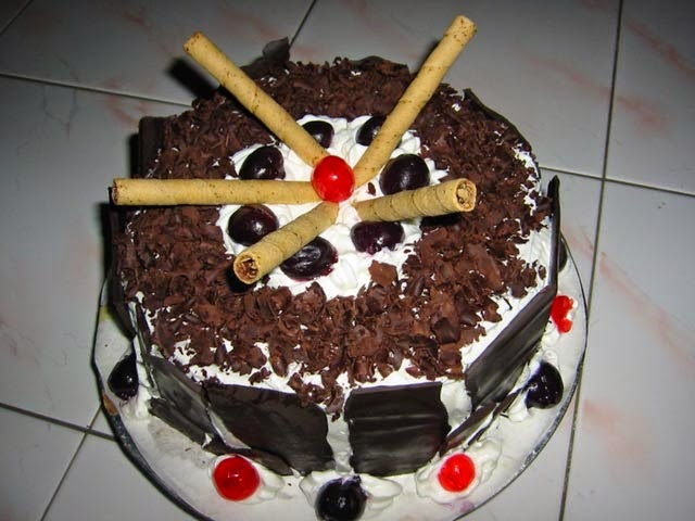 Resep Black Forest, Cara Membuat Black Forest