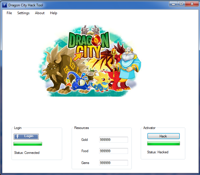 Dragon City Hack Tool Gold Food And Gems