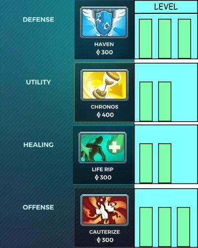 items in paladins
