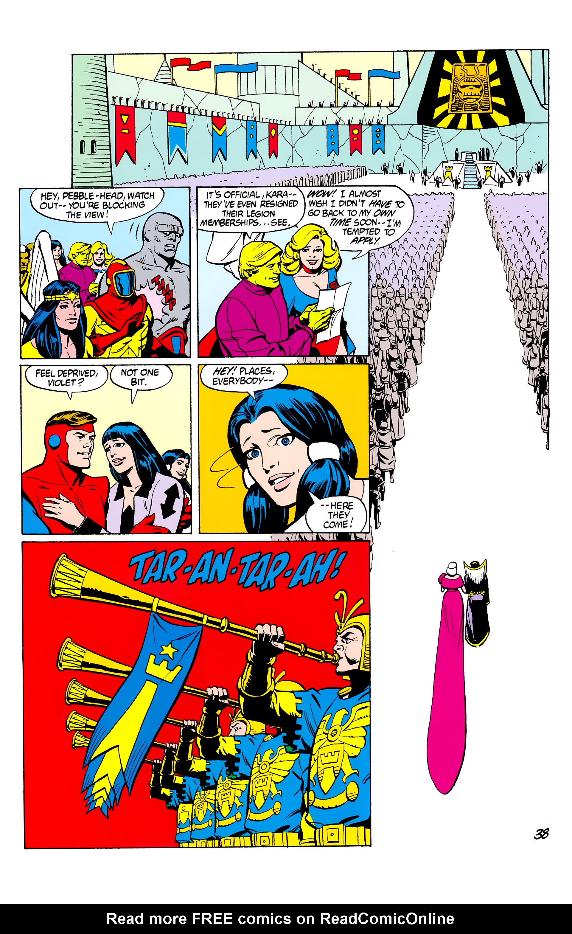 Legion of Super-Heroes (1980) _Annual_2 Page 38