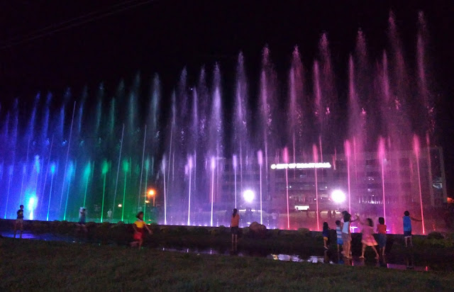 Newest Attraction in Koronadal: Musical Dancing Fountain at the City Hall