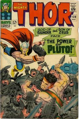 Thor #128, Pluto