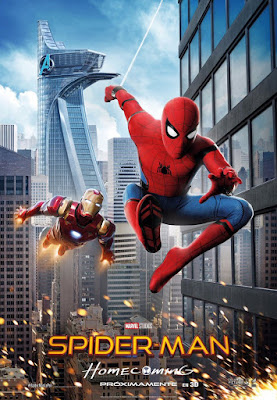 Spider-Man Homecoming Spider-Man & Iron Man Teaser Movie Poster
